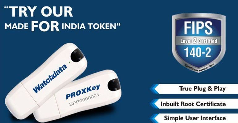 Proxkey USB Token Technotrain Digital Signature