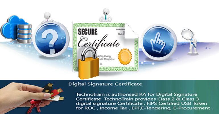 Technotrain Digital Signature Certificate